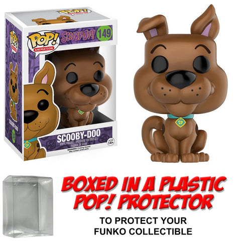 Funko POP! Animation ~ SCOOBY-DOO VINYL FIGURE w/Protector Case ~ Scooby-Doo