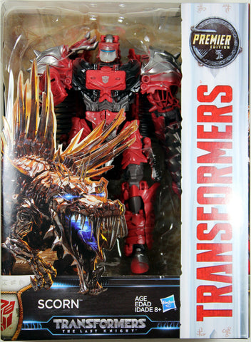 Transformers: Last Knight ~ Autobot/Dinobot SCORN ACTION FIGURE ~ Voyager Class