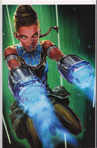 SHURI #8 (BATTLE LINES VARIANT) COMIC BOOK ~ Marvel Comics