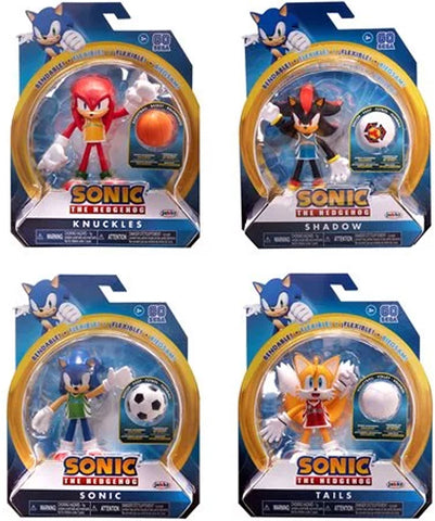 SONIC THE HEDGEHOG SERIES 3 ACTION FIGURE SET ~ PRE-ORDER