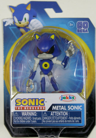 "Sonic the Hedgehog ~ 2.5"" METAL SONIC MINI ACTION FIGURE (RARE) ~ JAKKS"