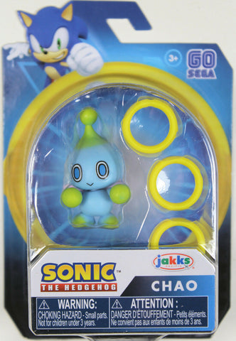 "Sonic the Hedgehog ~ 2.5"" CHAO MINI ACTION FIGURE (RARE) ~ JAKKS"