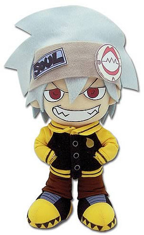 "Soul Eater ~ 8"" SOUL PLUSH FIGURE ~ Official Great Eastern Company Plushie"