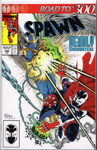 SPAWN #298 (TRADE VARIANT) COMIC BOOK ~ Image Comics