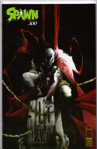 SPAWN #300 (JASON SHAWN ALEXANDER VARIANT) COMIC BOOK ~ Image Comics