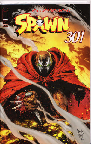 SPAWN #301 (GREG CAPULLO VARIANT) COMIC BOOK ~ Image Comics