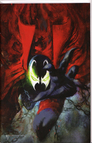 SPAWN #301 (BILL SIENKIEWICZ VIRGIN VARIANT) COMIC BOOK ~ Image Comics