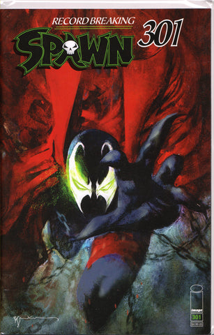 SPAWN #301 (BILL SIENKIEWICZ VARIANT) COMIC BOOK ~ Image Comics