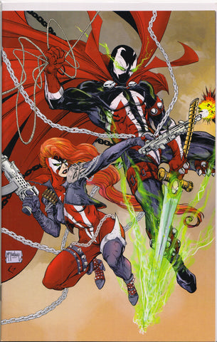 SPAWN #302 (TODD MCFARLANE SHE-SPAWN VIRGIN VARIANT) COMIC BOOK ~ Image Comics