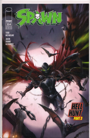 SPAWN #304 (FRANCESCO MATTINA VARIANT) COMIC BOOK ~ Image Comics