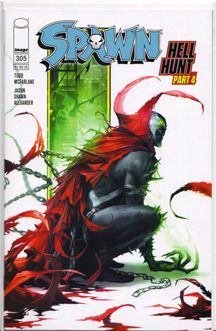 SPAWN #305 (FRANCESCO MATTINA VARIANT) COMIC BOOK ~ Image Comics