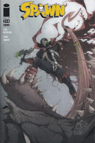 SPAWN #314 (REVOLVER VARIANT) COMIC BOOK ~ Image Comics