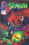 SPAWN #1 COMIC BOOK ~ Image Comics ~ Todd McFarlane Art
