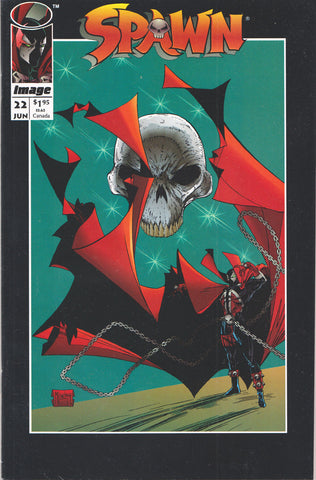 SPAWN #22 COMIC BOOK ~ Image Comics ~ Greg Capullo Art