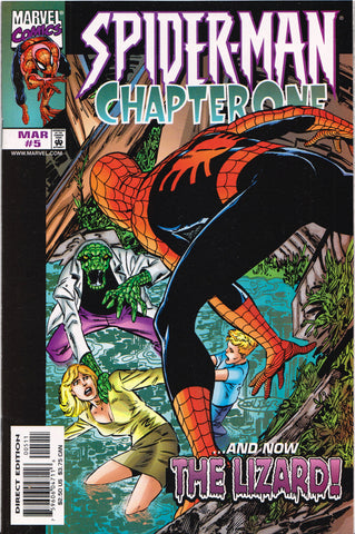 SPIDER-MAN: CHAPTER ONE #5 COMIC BOOK ~ Marvel Comics
