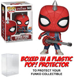 Funko POP! Marvel ~ SPIDER-PUNK PX EXCLUSIVE FIGURE w/PROTECTOR CASE