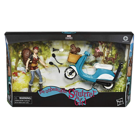 Marvel Legends ~ SQUIRREL GIRL w/SCOOTER ACTION FIGURE BOXED SET