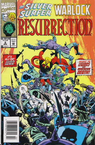 SILVER SURFER/WARLOCK: RESURRECTION #2 (1ST PRINT) COMIC BOOK ~ Marvel Comics