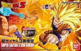 Dragonball Z ~ SUPER SAIYAN 3 GOKU ACTION FIGURE MODEL KIT ~ Bandai Figure-rise