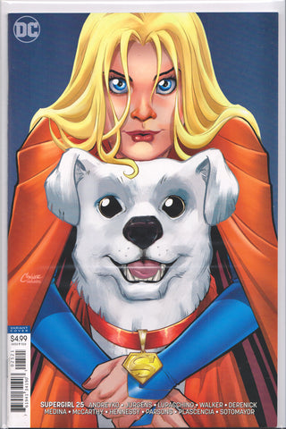 SUPERGIRL #25 (AMANDA CONNOR VARIANT) COMIC BOOK ~ DC Comics