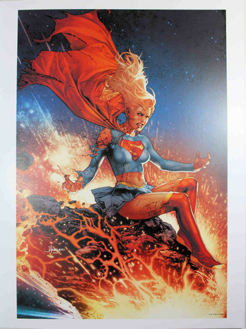 "DCEASED #2 (SUPERGIRL) ART PRINT by Jay Anacleto ~ 12"" x 16"" ~ DC Comics"