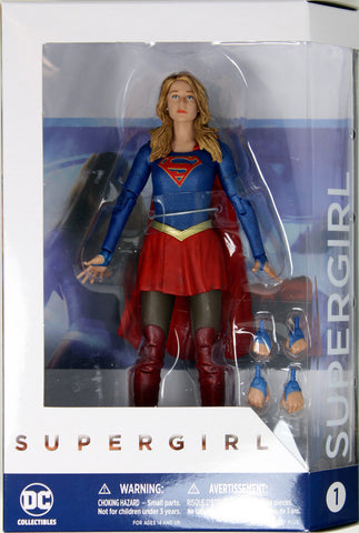 DC Collectibles ~ SUPERGIRL ACTION FIGURE ~ CW TV Series ~ Melissa Benoist