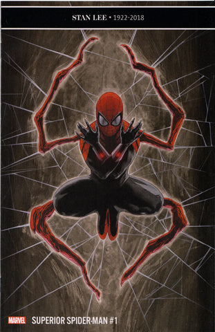 SUPERIOR SPIDER-MAN #1 (VOL. 2)(TRAVIS CHAREST VARIANT) ~ Marvel Comics