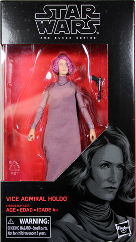 "Star Wars Black Series ~ 6"" VICE ADMIRAL HOLDO Action Figure ~ Episode VIII"