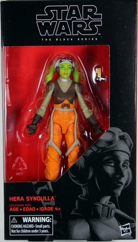 "Star Wars Black Series ~ 6"" HERA SYNDULLA ACTION FIGURE ~ Hasbro"