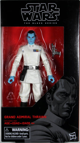 "Star Wars Black Series ~ 6"" GRAND ADMIRAL THRAWN ACTION FIGURE ~ Hasbro"