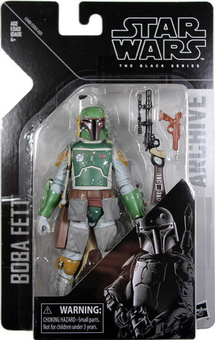 "Star Wars Black Series/Archive ~ 6"" BOBA FETT Action Figure ~ Hasbro"