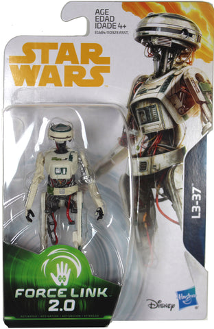 "Star Wars: Force Link 2.0 ~ 3 3/4"" L3-37 DROID ACTION FIGURE ~ Hasbro"
