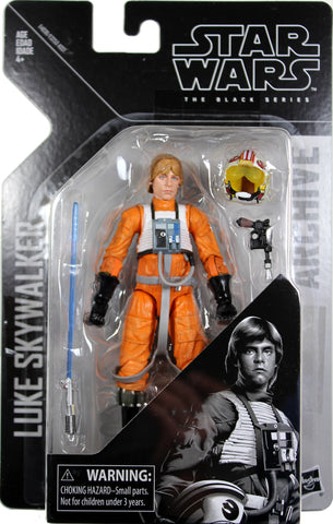 "Star Wars Black Series/Archive ~ 6"" LUKE SKYWALKER (X-WING) Figure ~ Hasbro"