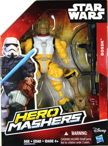Star Wars Hero Mashers ~ BOSSK ACTION FIGURE ~ Hasbro