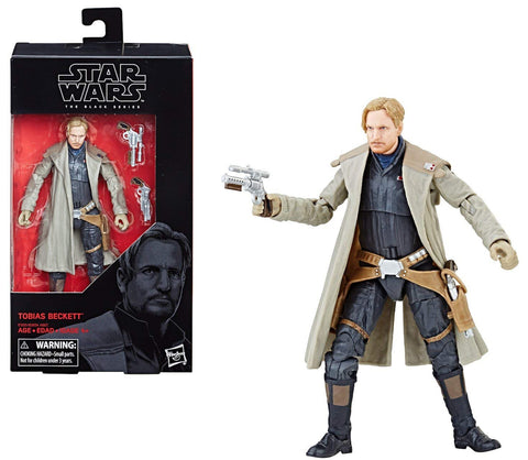 "Star Wars Black Series ~ 6"" TOBIAS BECKETT Action Figure ~ from Solo Movie"