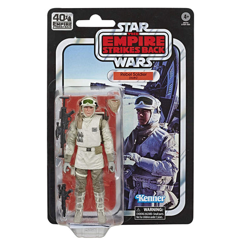 "Star Wars Black Series 40th Anniversary ~ 6"" HOTH REBEL SOLDIER ACTION FIGURE ~ Hasbro"