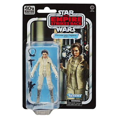 "Star Wars Black Series 40th Anniversary ~ 6"" PRINCESS LEIA (HOTH) ACTION FIGURE ~ Hasbro"