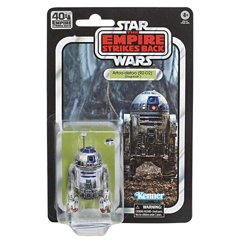 "Star Wars Black Series 40th Anniversary ~ 6"" SCALE R2-D2 (DAGOBAH) ACTION FIGURE ~ Hasbro"