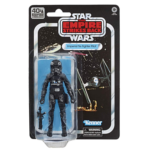 "Star Wars Black Series 40th Anniversary ~ 6"" TIE FIGHTER PILOT ACTION FIGURE ~ Hasbro"