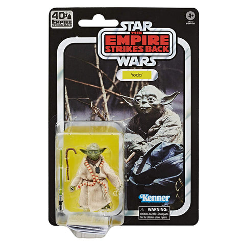 "Star Wars Black Series 40th Anniversary ~ 6"" SCALE YODA ACTION FIGURE ~ Hasbro"