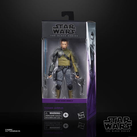 "Star Wars Black Series ~ 6"" KANAN JARRUS ACTION FIGURE ~ REBELS"