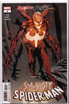 ABSOLUTE CARNAGE: SYMBIOTE SPIDER-MAN #1 (2ND PRINT) COMIC BOOK ~ Marvel Comics