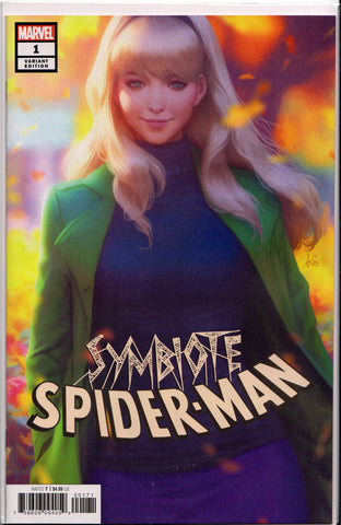 "SYMBIOTE SPIDER-MAN #1 (STANLEY ""ARTGERM"" LAU COVER) COMIC BOOK ~ Marvel Comics"