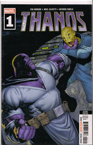 THANOS #1 (2ND PRINT) COMIC BOOK ~ Marvel Comics