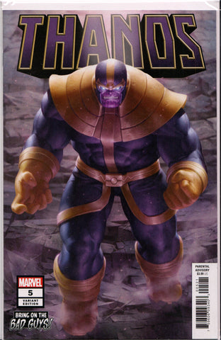 THANOS #5 (BRING ON THE BAD GUYS VARIANT) COMIC BOOK ~ Marvel Comics