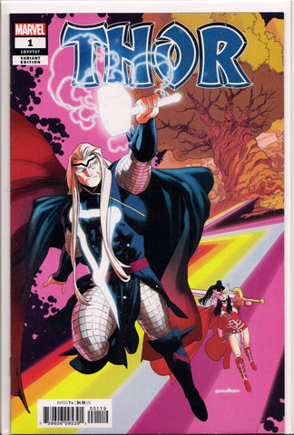 THOR #1 (RAINBOW BRIDGE VARIANT) COMIC BOOK ~ Marvel Comics