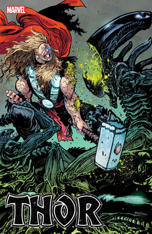 THOR #11 (DANIEL WARREN JOHNSON ALIEN VARIANT) COMIC BOOK ~ Marvel Comics