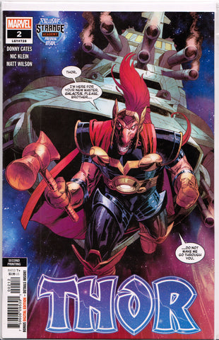THOR #2 (2ND PRINT) COMIC BOOK ~ Marvel Comics