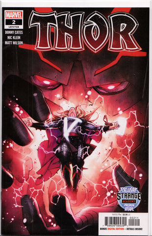 THOR #2 (1ST PRINT) COMIC BOOK ~ Marvel Comics