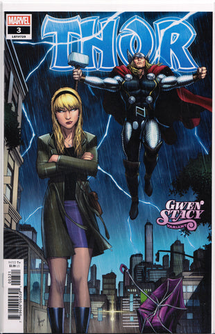THOR #3 (DALE KEOWN VARIANT) COMIC BOOK ~ Marvel Comics